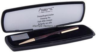 Ручка со штампом Heri 3089М, (флеш)