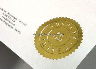 Рельефная печать TRODAT IDEAL Seal  41 мм