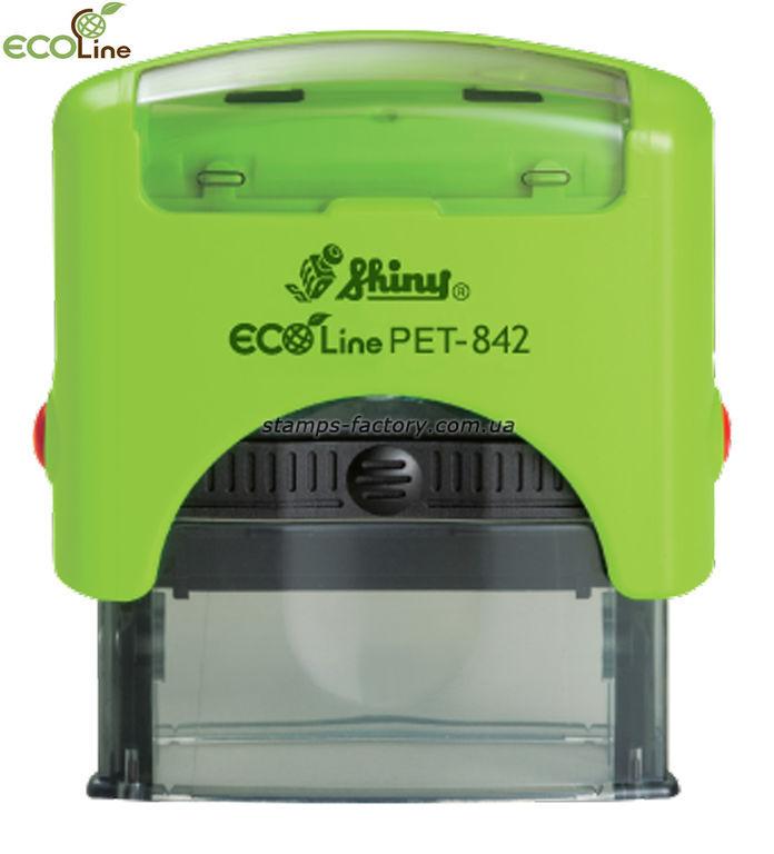 Оснастка Шайни (эко пластик) PET-842, 38х14 мм