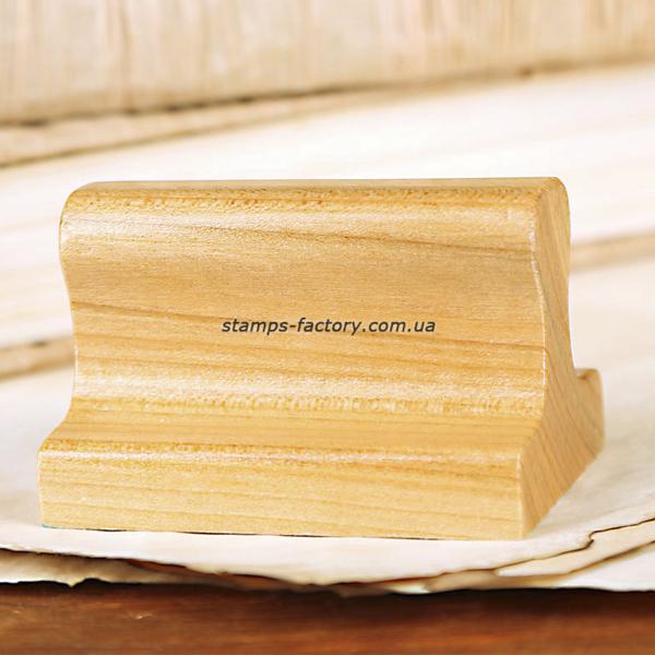 Оснастка деревянная, 41х24 мм