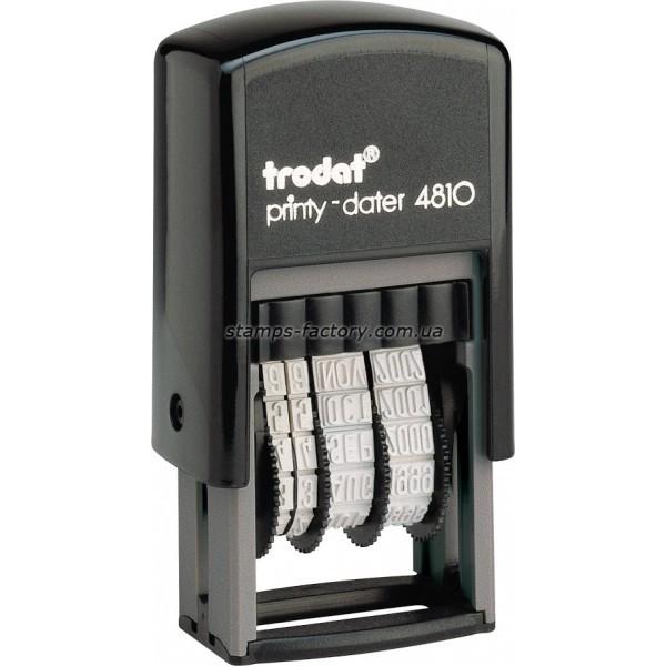 Минидатер Тродат 4810, 3,8 мм